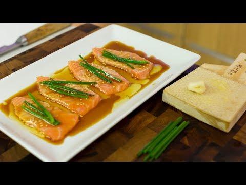 New Style Salmon Sashimi Tutorial