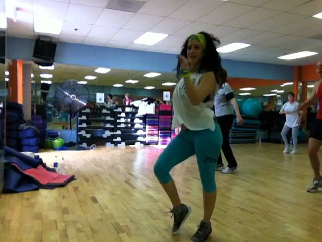 Zumba fitness with Sheila Suazo