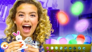LED Easter Eggs and Bunny Ears Headphones Hacks! GoldieBlox