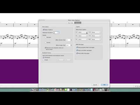 Sibelius Tutorial: How To Record With A MIDI Keyboard - YouTube
