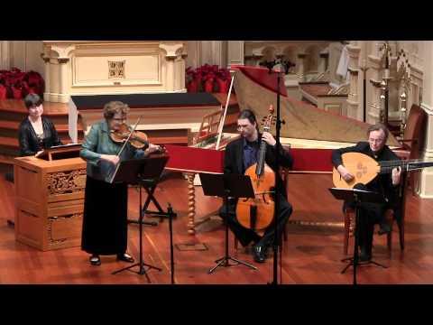 Johann Heinrich Schmelzer: Sonata Quarta; Elizabeth Blumenstock, baroque violin; Voices of Music