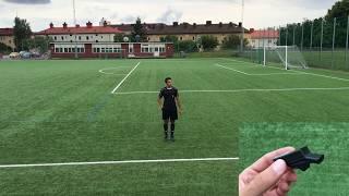 Referee whistle comparision: Molten Valkeen - Acme Tornado 2000 - Devastator...