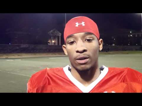 2011 Maryland Crab Bowl Powered by Under Armour : Ian Thomas (Franklin) Interview