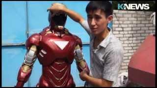 Железный человек в Кыргызстане