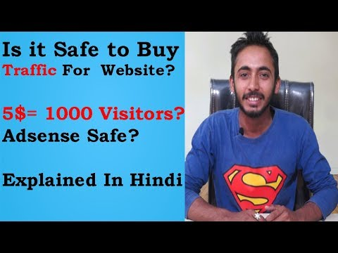 Is It Safe To Buy Traffic for your Websites? l How Much They Worked l Everything Explained In Hindi