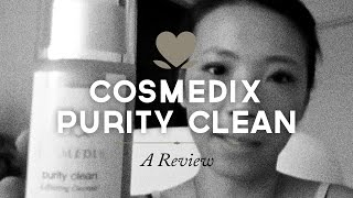 Pamela reviews Cosmedix Purity Clean Thumbnail