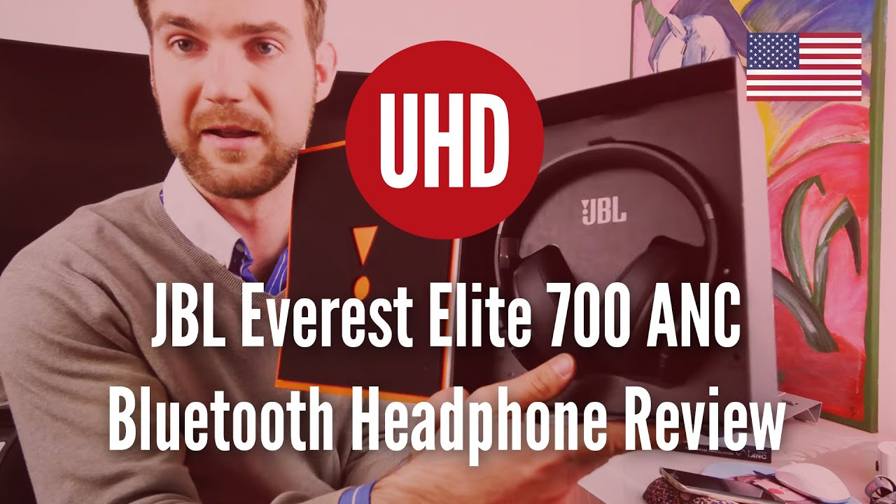 jbl everest elite 700 anc bluetooth headphone review 4k uhd youtube. Black Bedroom Furniture Sets. Home Design Ideas