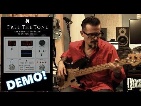 Free The Tone PA-1QB ANALOG Bass EQ Demo