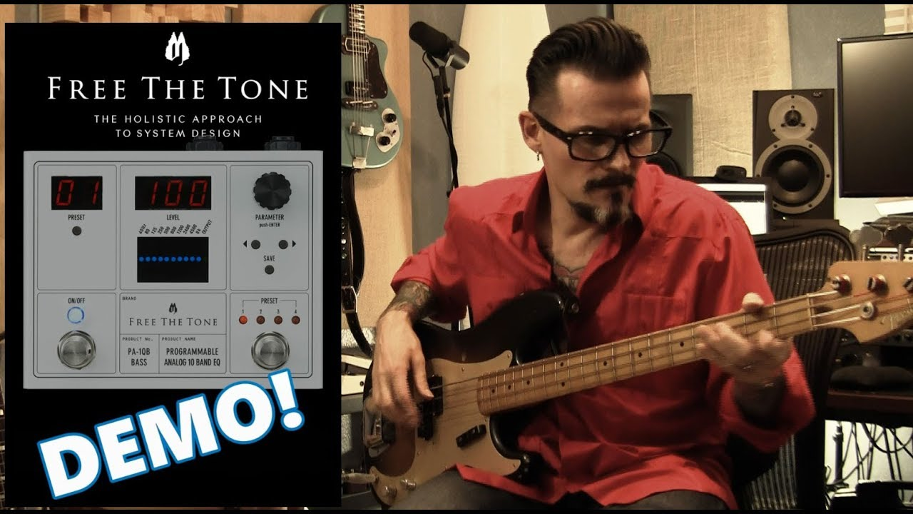 FREE THE TONE Programmable Analog 10 Band EQ - Bass