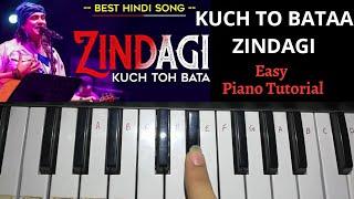 Kuch Toh Bata Zindagi - Easy Piano Tutorial | OneFinger