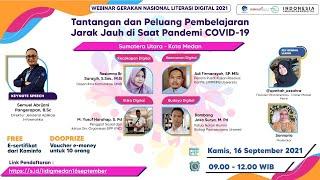 Tantangan dan Peluang Pembelanjaran Jarak Jauh di Saat Pandemi COVID-19 (Kota Medan, 16\/09\/2021)