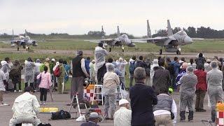 2016/09/19 石川県の小松基地で行われた、航空祭の映像です。アグレッサ...