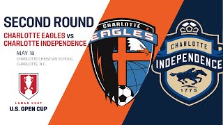 2016 Lamar Hunt U.S. Open Cup - Second Round: Charlotte Eagles vs. Charlotte Independence