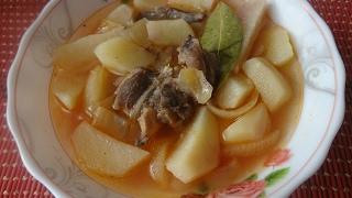 Тушёный картофель с мясом. Просто и очень вкусно!