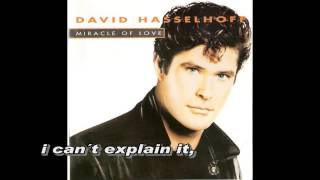 Watch David Hasselhoff Miracle Of Love video