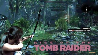 Rise of The Tomb Raider E.p. 3 - Mas Lobos nos atacan... OMG!! Stop!!