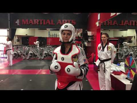 How To Put On Sparring Gear