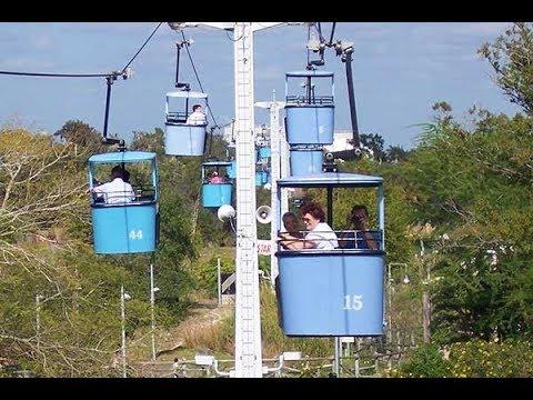 Superbe Viaje En Sky Ride Busch Gardens Tampa 🔭🔭 🚠🚠🚠