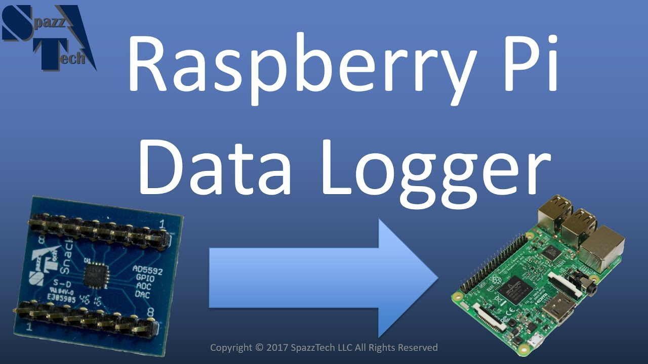 Raspberry Pi Data Logger Demo And Tutorial Youtube