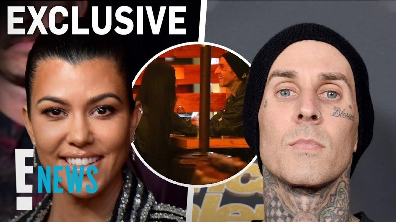 Kourtney Kardashian & Travis Barker Caught Holding Hands | E! News
