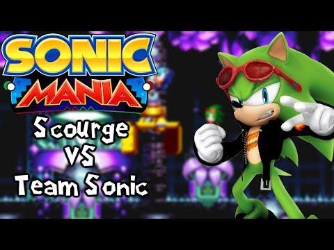 Sonic Mania Mods  Scourge vs Team Sonic Scourge Mania & Sonic & Friends vs Sonic & Friends?