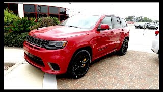 2018 Jeep Grand Cherokee Trackhawk!!!! Not Budget Friendly!!!!