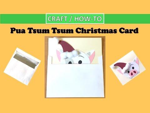 DIY Pua Tsum Tsum Christmas Card