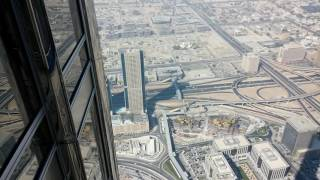A view from Burj Khalifa Observation deck