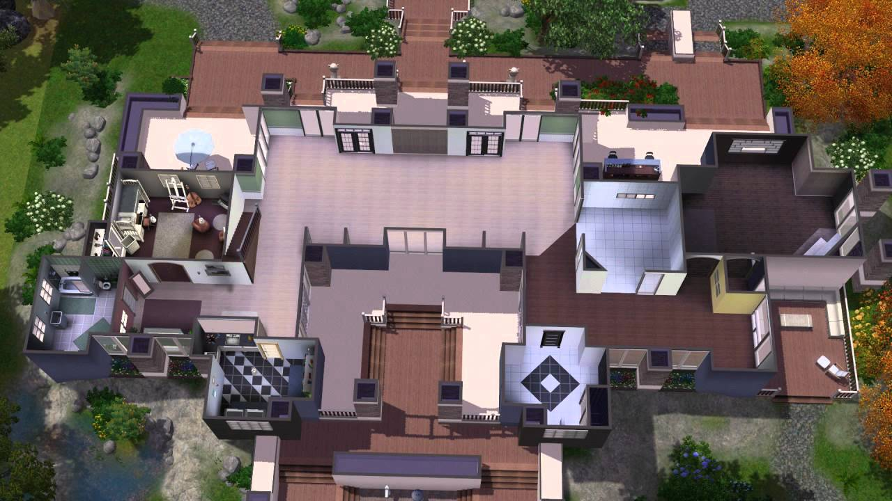 The sims 3 house building timolo 46 chrillsims3 youtube malvernweather Image collections