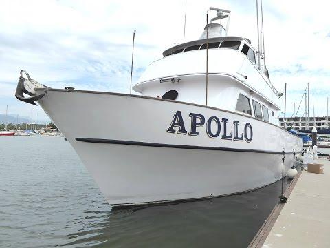 Apollo Sportfishing - Boat Tour