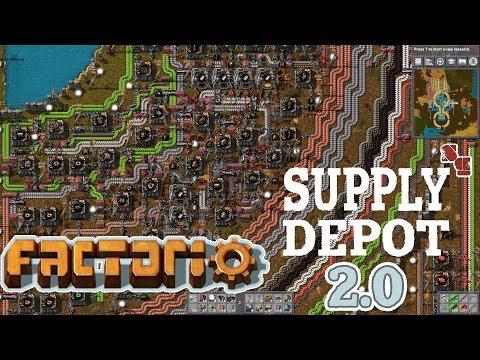 FACTORIO 0.15 | Supply Depot 2.0 - Episode 25