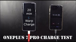 OnePlus 7 Pro - THE 20 MINUTE WARP CHARGE TEST