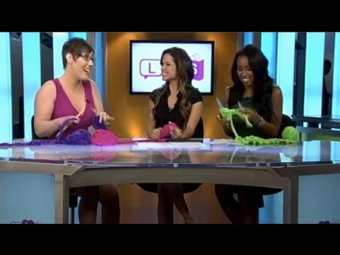 Life, Love, Shopping (National Show) TV Appearance – How Knitting Can Save Your Life