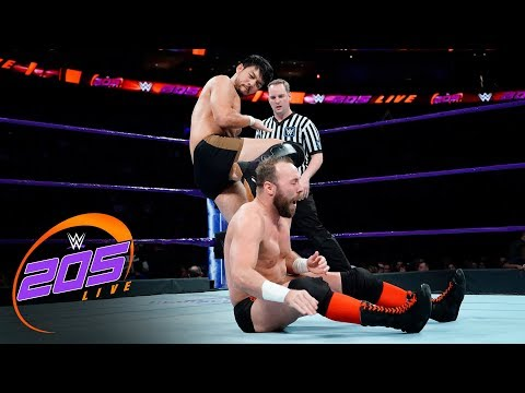 Hideo Itami vs. Colin Delaney: WWE 205 Live, Dec. 19, 2017