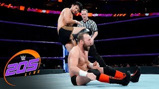 Hideo Itami vs. Colin Delaney: WWE 205 Live, Dec. 19, 2017