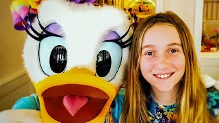 Cape May Character Breakfast Review  Welcome Daisy Duck!