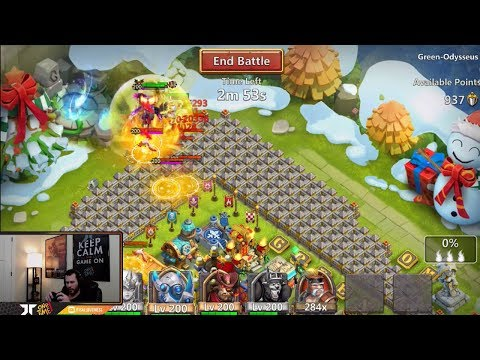 Stacking On Empower Dove Keeper's DOVES WIth Mino Castle Clash