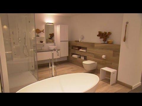De laatste badkamertrends - EIGEN HUIS & TUIN - YouTube