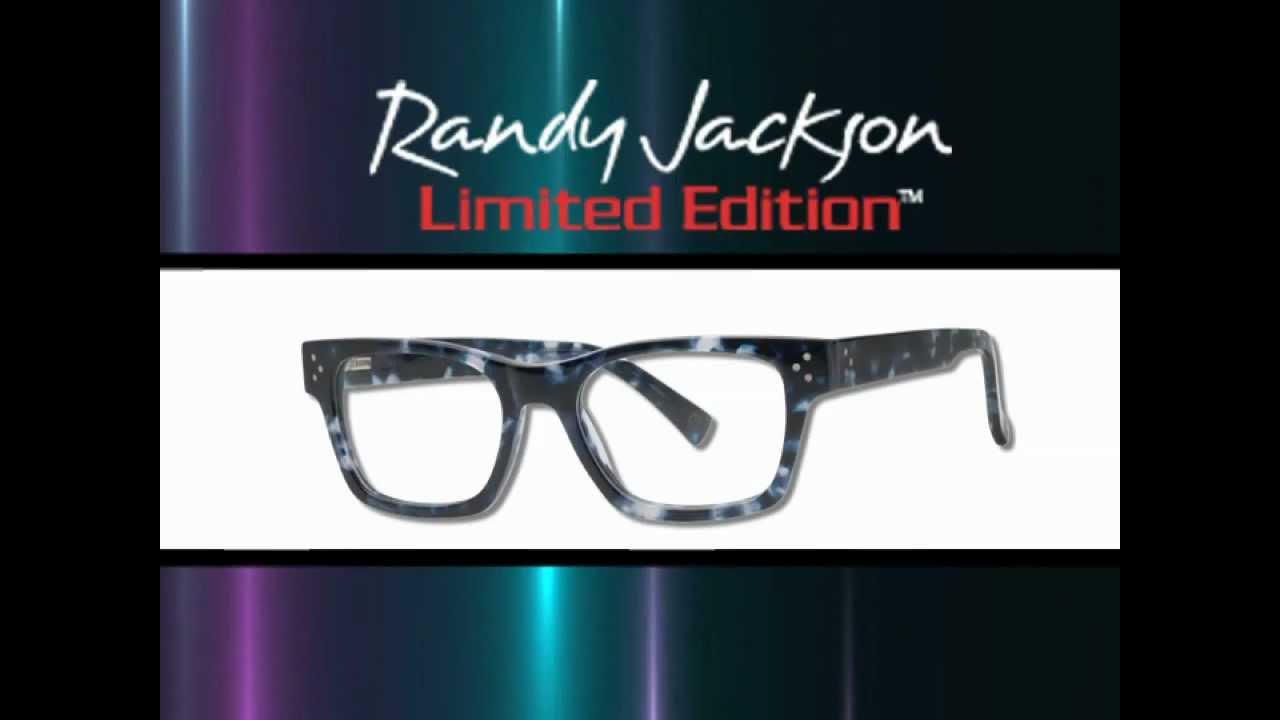 Randy Jackson Eyewear Limited Edition Promo - YouTube