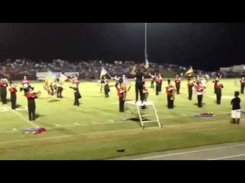 East Rutherford High school marching band