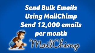 Send Bulk emails with Mail Chimp. Good for starters