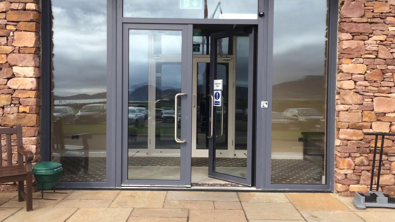 Irish Door Systems Ltd. - Automatic Swing Door & Irish Door Systems Ltd. - Automatic Swing Door - YouTube