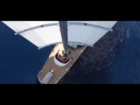Maltese Falcon at the Perini Navi Cup 2013