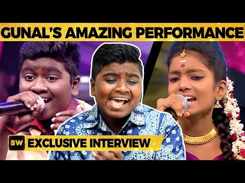 Gunal & Vishalini Live Singing Perfomance | Super Singer Juniors | Vijay TV