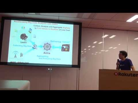 [RakutenTechConf2015][B-7]Accelerating Big Data with LeoFS x Astra