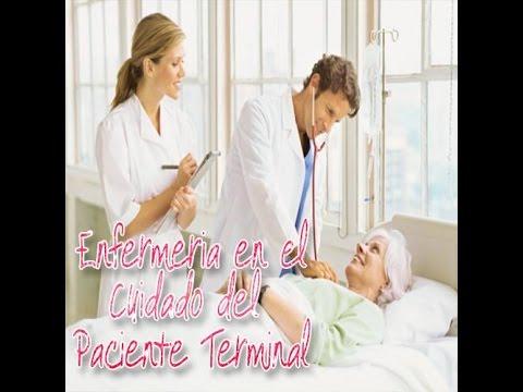 Paciente terminal y enfermeria en los cuidado paliativos