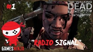 The Walking Dead Michonne Episode 1 - In Too Deep - Gameplay Walkthrough - #1 Radio Signal