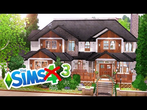 My First House In Sims 3 The Sims 3 Speed Build No Cc Youtube