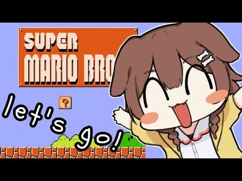 【English only!】日本語を喋ったらダメなマリオ【Super Mario Bros.】