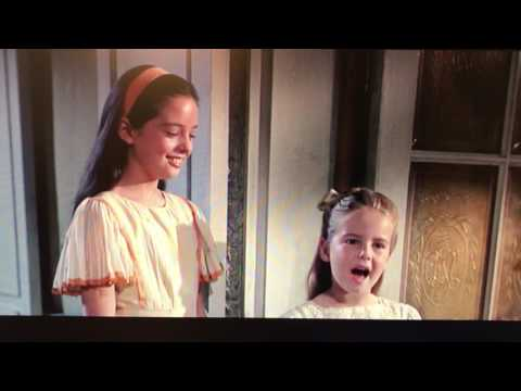 """Gretl: """"I think the men look beautiful."""" (The Sound of Music)"""